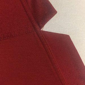 Calvin Klein Tops - Calvin Klein Rich Orange Tunic Top Shirt Med